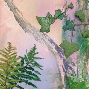Using Nature to Inspire Abstracts - How to Add Leaves