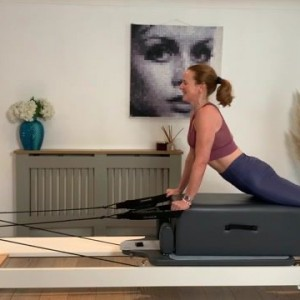 Ride the Rails, Still the Wheels! Reformer Class - 45 mins NEW RELEASE