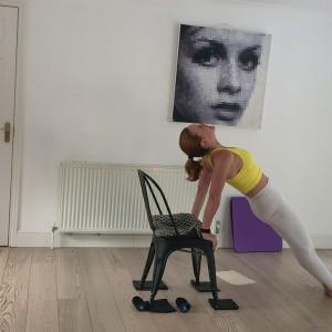 High Intensity 'Chairlates' - 30 mins